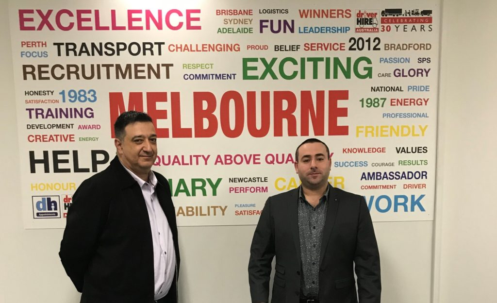 Driver Hire Melbourne East staff